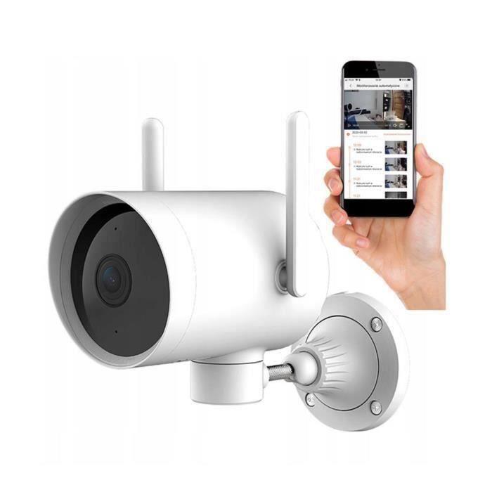 IMILAB EC3 PTZ Webcam WiFi extérieure 270 ° 1080P H.265...