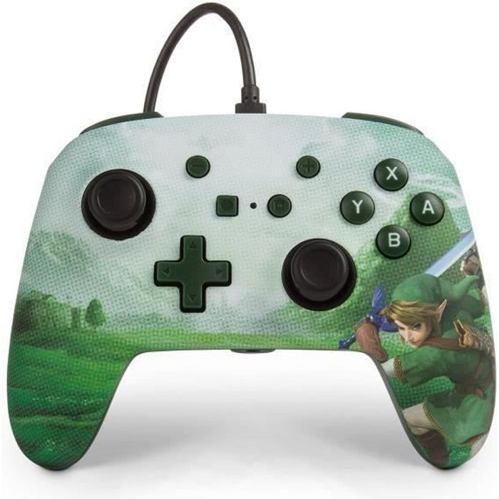 Power a manette nintendo switch wired controller link hyrule