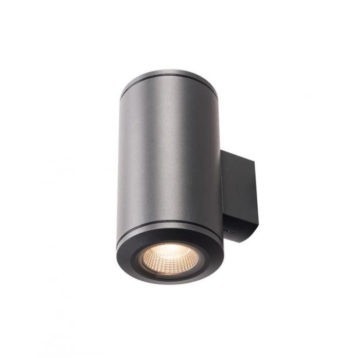 POLE PARC LED, applique extérieure UP DOWN, anthracite, LED 56W 3000K,