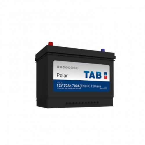 Batterie de démarrage TAB Polar S M10G S70JX 12V 70Ah 600A