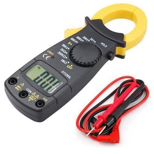 TRIXES Multimètre électronique pour courant CA/CC testeur avec écran digital sonde