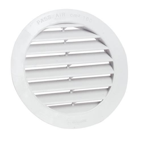 grille de ventilation ronde diam tube pvc 125 pa achat vente a ration cdiscount. Black Bedroom Furniture Sets. Home Design Ideas