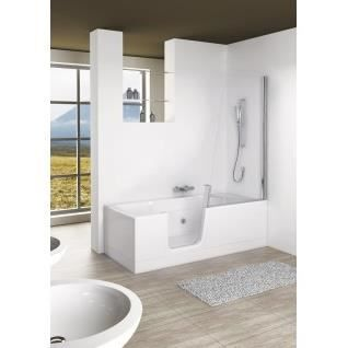concept bain douche kineduo 2 version droite 170x75 sans baln o achat vente baignoire. Black Bedroom Furniture Sets. Home Design Ideas