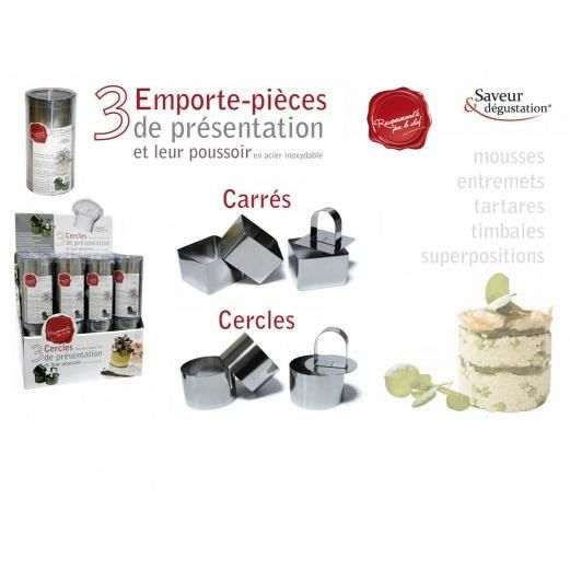 Emporte piece patisserie carre achat vente emporte for Emporte piece carre patisserie