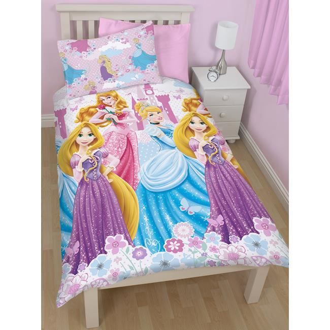 parure housse de couette princesse disney achat vente. Black Bedroom Furniture Sets. Home Design Ideas