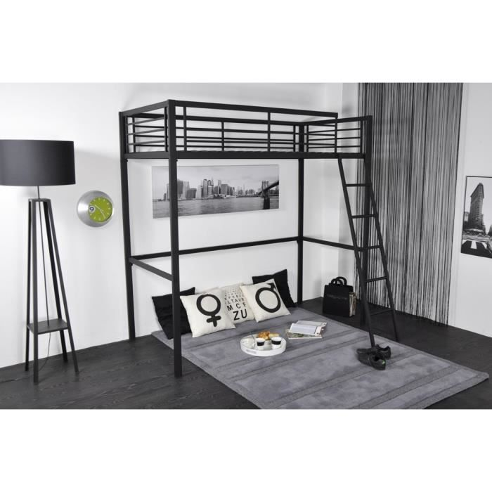 lit mezzanine en 90 cm graff achat vente lit mezzanine lit mezzanine en 90 cm graff soldes. Black Bedroom Furniture Sets. Home Design Ideas