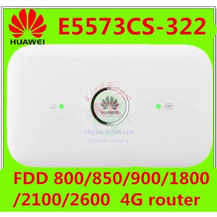 MODEM - ROUTEUR Débloqué  E5573s-322 E5573 4g Wifi Routeur Bande 1