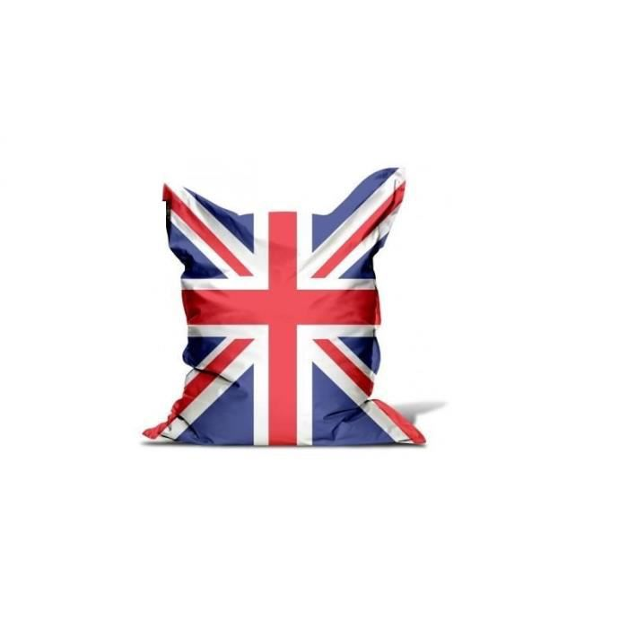 housse pour pouf union jack avec bille achat vente pouf poire cdiscount. Black Bedroom Furniture Sets. Home Design Ideas