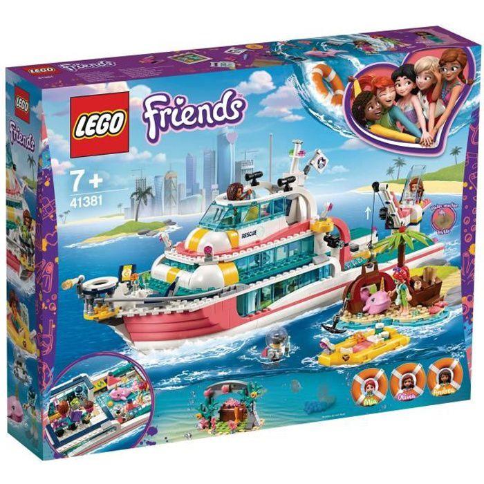Photo de lego-friends-41381-le-bateau-de-sauvetage