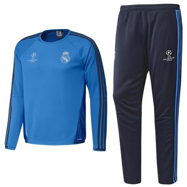 8d7f75daf5c JOGGING TRAINING ADIDAS REAL MADRID TAILLE S Bleu Bleu - Achat ...