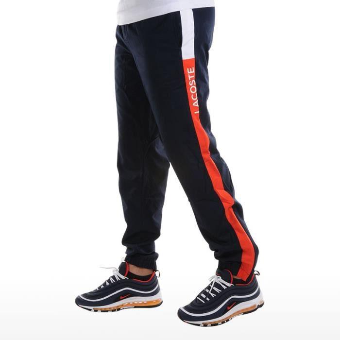 Pantalon de survêtement Lacoste SPORT bleu