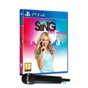 Let's Sing 16 Hits Internationaux Jeu PS4 + 1 Micro