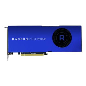 CARTE GRAPHIQUE INTERNE AMD Carte graphique GDDR5 Radeon Pro WX 8200 - 8 G