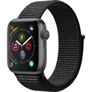 MONTRE CONNECTÉE Apple Watch Series 4 GPS, 40mm Boîtier en aluminiu