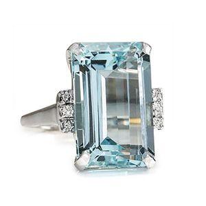 BAGUE - ANNEAU Bague de mariage de diamant de mode femme de luxe