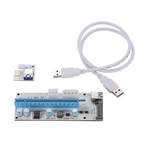 PC EN KIT 4PCS Câble d'alimentation USB3.0 PCI-E Express 1x