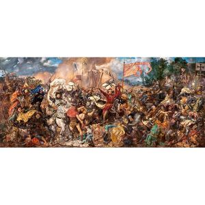 PUZZLE Castorland The Battle of Grunwald, Jan Matejko, Ji