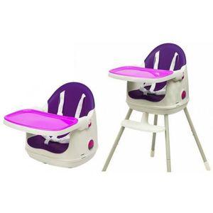 CHAISE HAUTE  KETER Chaise Haute 3 en 1 MultiDine High - Violet