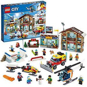 ASSEMBLAGE CONSTRUCTION LEGO®-City La station de ski Enfant 6 Ans et Plus,