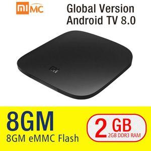 RÉCEPTEUR - DÉCODEUR   Xiao mi mi TV BOÎTE 3 Smart 4 k Ultra HD 2g 8g And