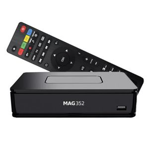 BOX MULTIMEDIA Mag 351 / 352 Premium Set-Top-Box IPTV 4K UHD HEVC