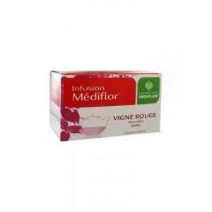 CIRCULATION SANGUINE Médiflor Vigne Rouge Infusions 24 Sachets