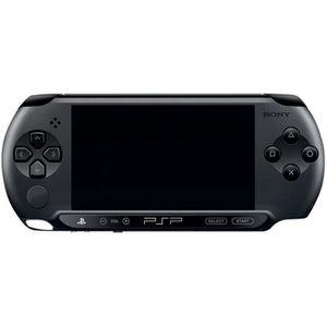 CONSOLE PSP Sony PSP E1000 Console de jeu portable noir charbo