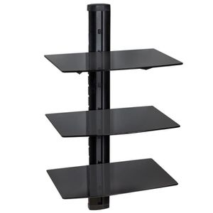 etagere murale pour tv achat vente pas cher. Black Bedroom Furniture Sets. Home Design Ideas