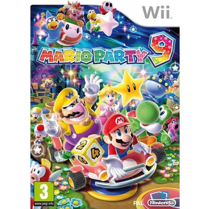 JEU WII MARIO PARTY 9 / Jeu console Wii