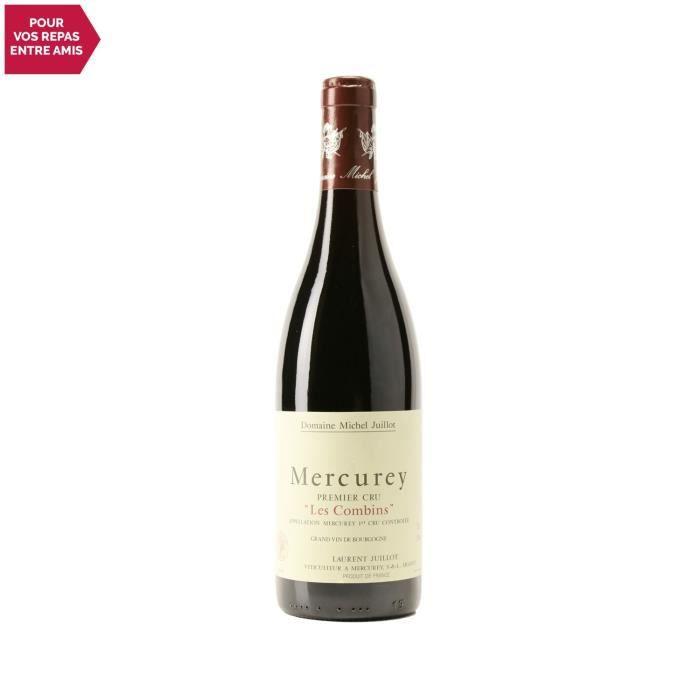 Mercurey 1er cru Les Combins Rouge 2018 - 75cl - Domaine Michel Juillot - Vin AOC Rouge de Bourgogne - Cépage Pinot Noir