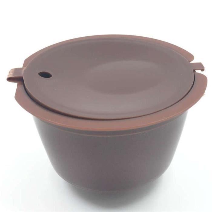1 Pièces Capsule De Café Réutilisable Tasse de Filtre pour Nescafé Rechargeable Casquettes Cuillère Brosse Filtre [08073A0]