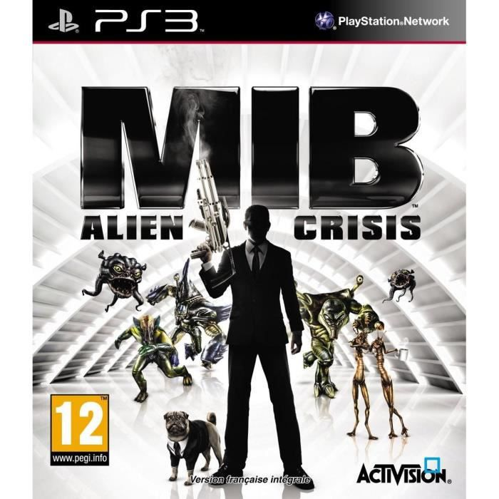 JEU PS3 MEN IN BLACK ALIEN CRISIS / Jeu console PS3