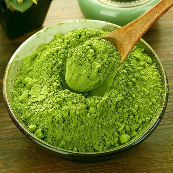 Premium 500g China Matcha Green Tea Powder 100% Natural Organic Slimming Matcha Tea Chinese Tea Raw Tea Sheng
