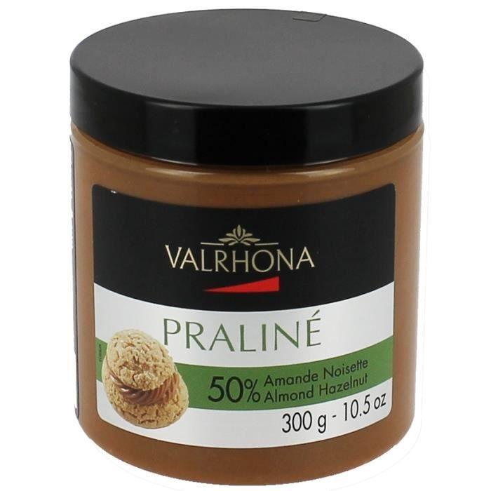 Praliné 50% Amande Noisette Valrhona 300g