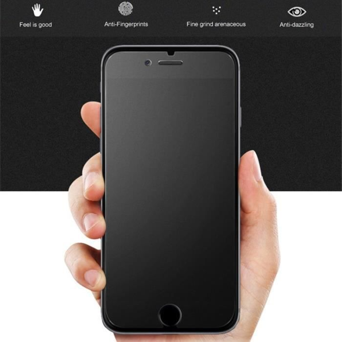 YA Protections d'écran de téléphone - Pas d'empreinte digitale mat protecteur d'écran film e.... - for iphone 8 - YASFLTP0508A10891