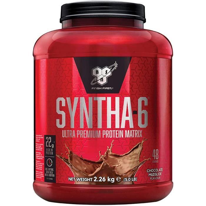 BSN Syntha 6 Ultra-Premium Poudre de Prot&eacuteine pour Musculation et R&eacutecup&eacuteration, Saveur Chocolat, 48 Portion28