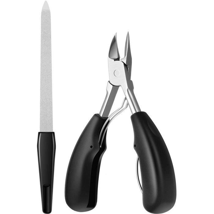 coupe-ongles de précision pour épais incarné aigle de ongle dur pinces de nez d'aigle grand pinces à ongles ensemble d'outils de s