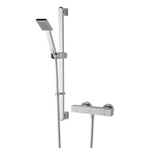 Bristan Innovations Ltd Câble QD shxsmff C Quadrato Exposed Kit de barre de douche avec