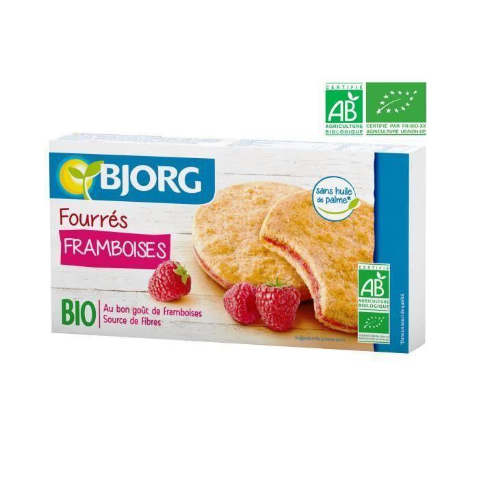 BJORG Fourres aux Framboises - Bio - 175 g