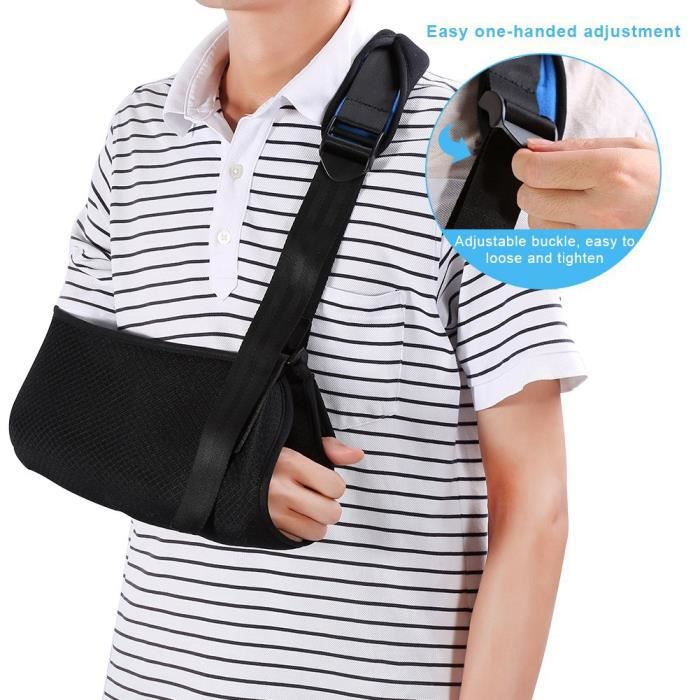 Ceinture de soutien médical , Attelle de soutien de la coiffe des rotateurs pour les bras cassés, les coudes et les blessures à HB00