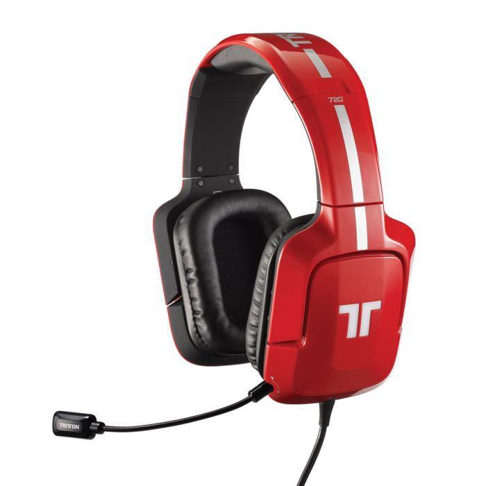 TRITTON 720 Plus Red PS4/PS3/XBOX 360/PC/MAC