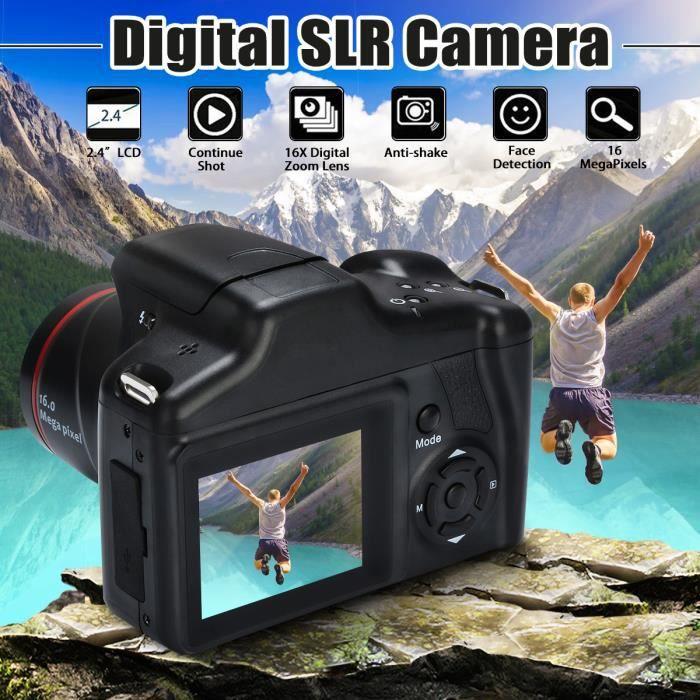 TEMPSA Appareil Photo Reflex Caméra Numérique 16MP 1080P HD Zoom 16X