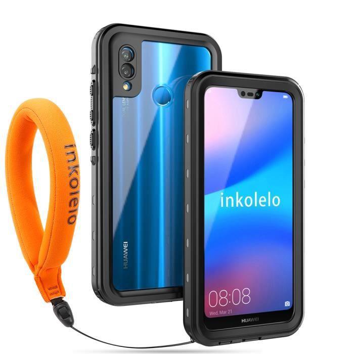 inkolelo Coque Huawei P20 Lite Étanche, [IP68 Impe