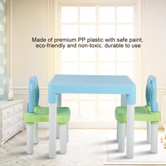 LIA Ensemble de chaise de table en plastique pour enfants ...