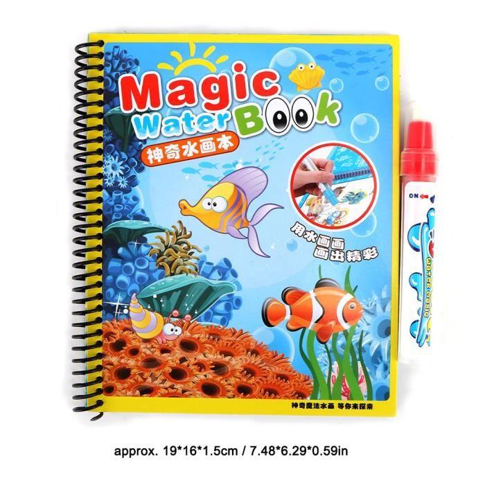 Dessin A L Eau Coloriage Peinture Livre Pour Bebe Enfants Jouets D Eveil Educatifs 2 Shy