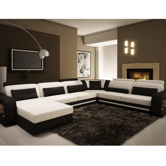 cdiscount canape cuir maison design. Black Bedroom Furniture Sets. Home Design Ideas
