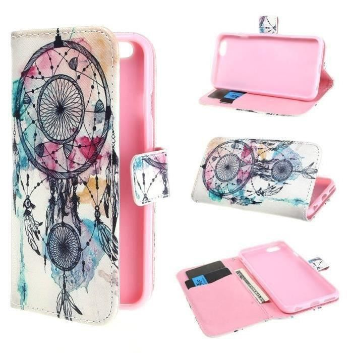 rongle r coque rabat clapet iphone 6 dreamcatcher