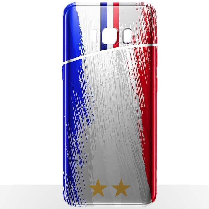 Coque Samsung S8 Foot France - Coque téléphone Col