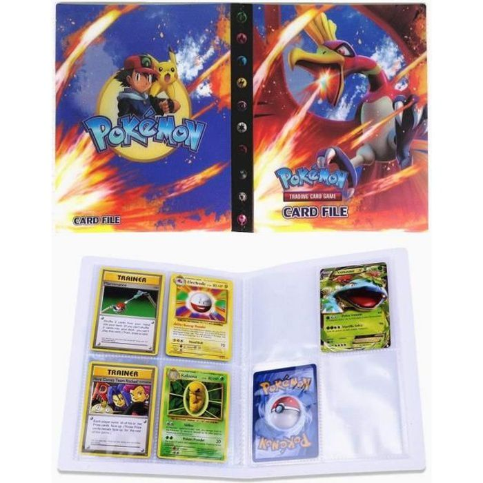 Packs Et Sets De Cartes A Collectionner Porte Carte Pokemon Album Pour Cartes Pokemon Gx Classeur Carte Pokemon Album 236926 Achat Vente Carte A Collectionner Cdiscount