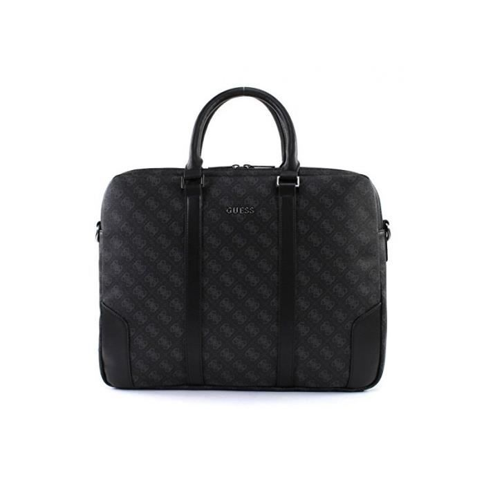 Guess Sac City Logo Briefcase Guess Solde GJGOVVC7L